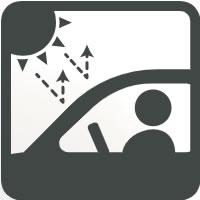 UV、IRカット自動車ガラスフィルム