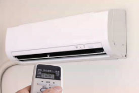 エアコン効率上昇
