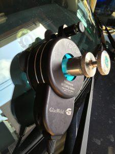 トヨタノアのガラス補修