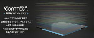 COATTECT熱反射フロントガラス