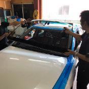 共栄の自動車ガラス交換の流れ