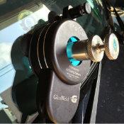 自動車ガラス補修 照射