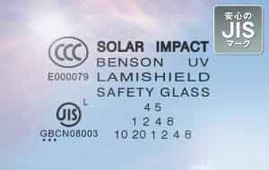 SOLAR IMPACT 安心のJISマーク