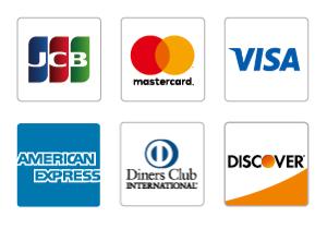 各種カード払い対応
