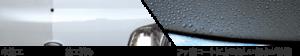 フッ素コートによる美しい撥水が持続