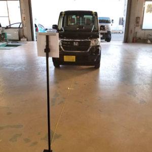 国産ツールで自動ブレーキ搭載車のエーミング可能