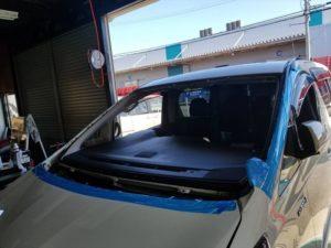 トヨタアルファードフロントガラス交換