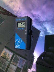 ダイハツアトレーゴースト2ネオ施工ガラス透過率